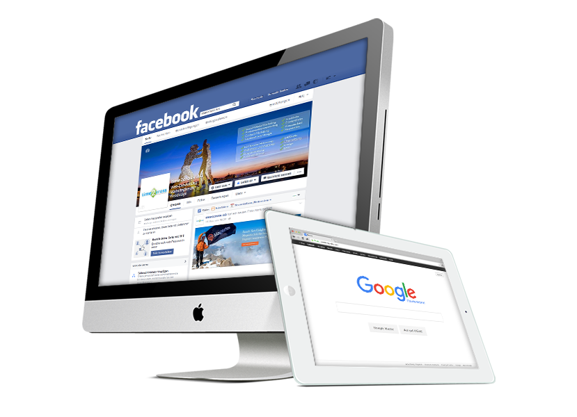 Online Marketing mit Facebook, Google und mehr